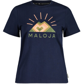 Maloja GoldnesselM. SS T-Shirt Women, night sky